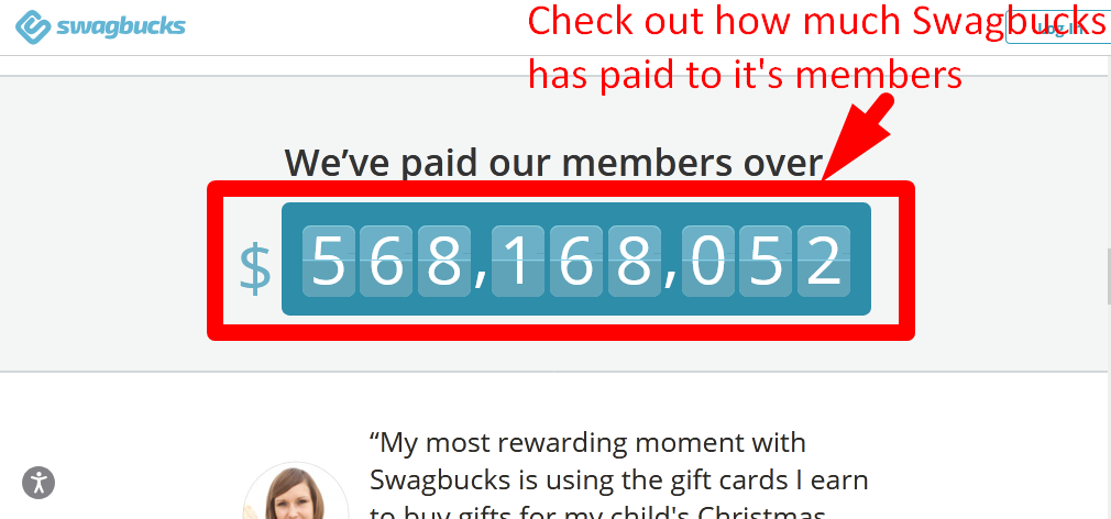 How much has Swagbucks paid out to its members