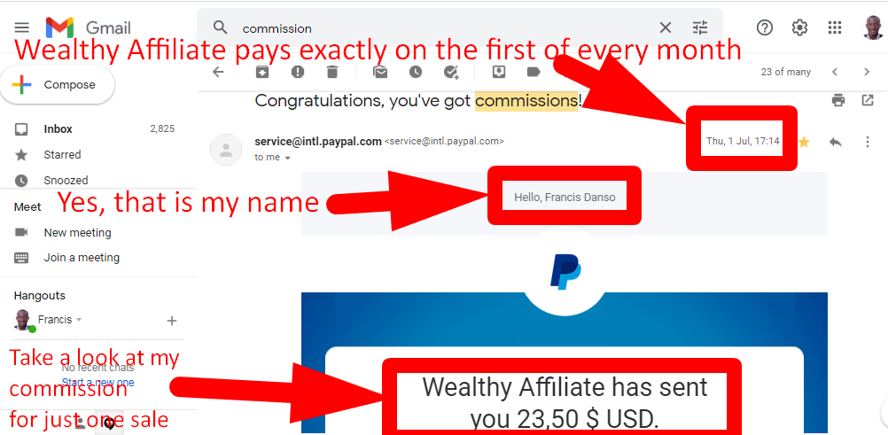 Wealthy Affiliate has never delayed my payment