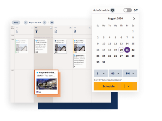 Save Time By Scheduling Posts With Hootsuite
